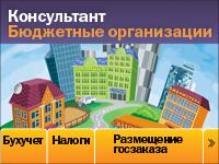 """СПС """"Консультант Бюджетные организации"""""""