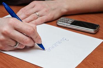 Заявление на увольнение - как правильно написать образцы заявлений и приказа
