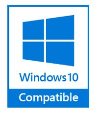 Логотип совместимости с Windows 10