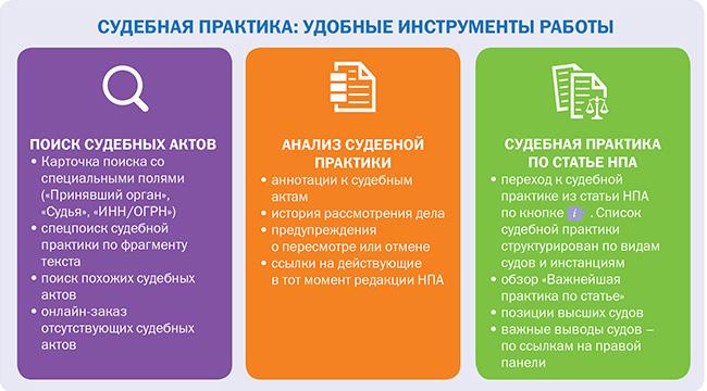 Судебная практика_удобные инструменты работы